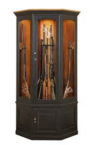 amish gun cabinets oak cherry maple gun cabinets
