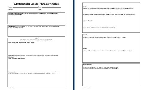 focus planning template lesson plan book template new calendar template site
