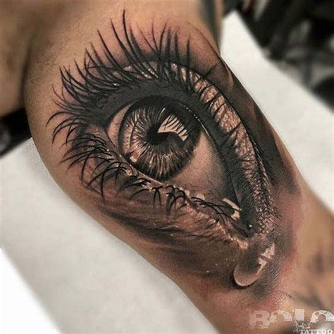 eyeball tattoos designs 55 best inner bicep tattoos designs and ideas for and