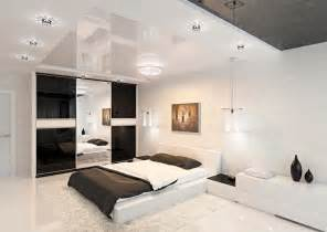 Black And White Bedroom Design Modern Black And White Bedroom Interior Design Ideas