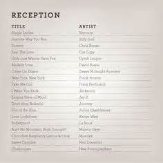 Wedding Reception Music Playlist Suggestions » Home Design 2017