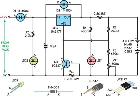 alimentatore 12v con batteria tone battery charger circuit page 10 power supply circuits