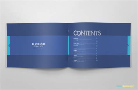 brand book template free brand guidelines template brandbooks zippypixels