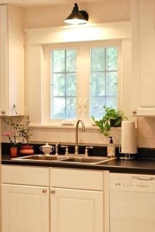 wall mounted light  kitchen sink farmhouse kitchen