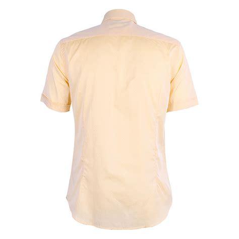 Patterned Sleeve Shirt men s sleeve patterned shirt yellow david wej