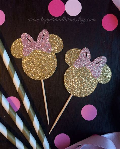 Set Baby Minnie Sunflower 9 best pink and gold minnie mouse images on