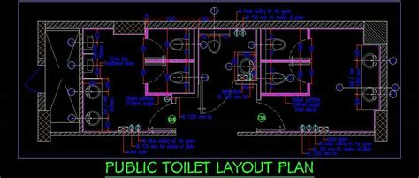 toilet layout dwg public toilet layout plan plan n design