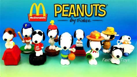 Happy Meal Snoopy Peanut Periode I 2018 mcdonald s peanuts snoopy world happy meal toys