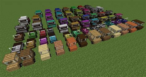 minecraft truck wip car mod vehicles roads and fuel production