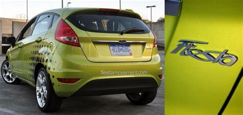 Lime Green Front Door review 2011 ford fiesta and the fiesta movement updated