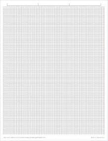 Graph paper 1 10 inch grid