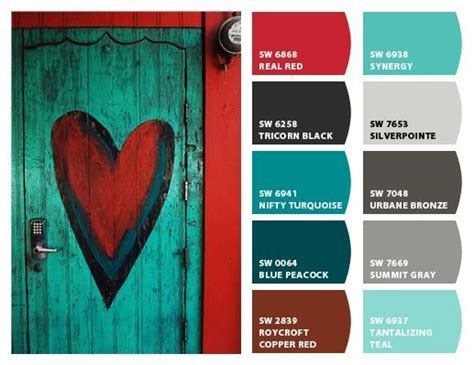 sherwin williams nifty turquoise real and turquoise