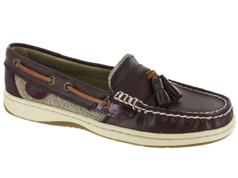 boat shoes discount cheap sperry women s tasselfish shoes burgundysperry top