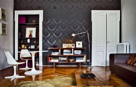 Living Room Wallpaper Ideas White Black by Stile Retr 242 In Casa Mobili Di Arredo E Oggetti Di Design