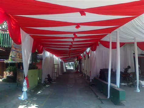 Tenda Wedding contoh tenda ketupat anesya decoration