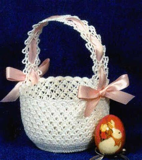free knitted easter basket patterns knit pattern for easter baskets crochet easter basket