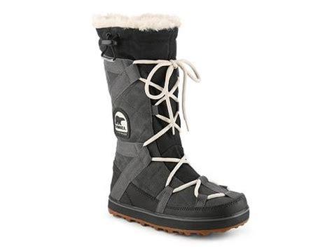 dsw winter boots sorel glacy explorer snow boot dsw