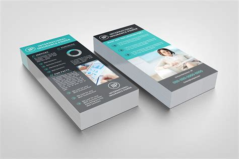 Uprinting Rack Card Template by Business Rack Card Template On Behance