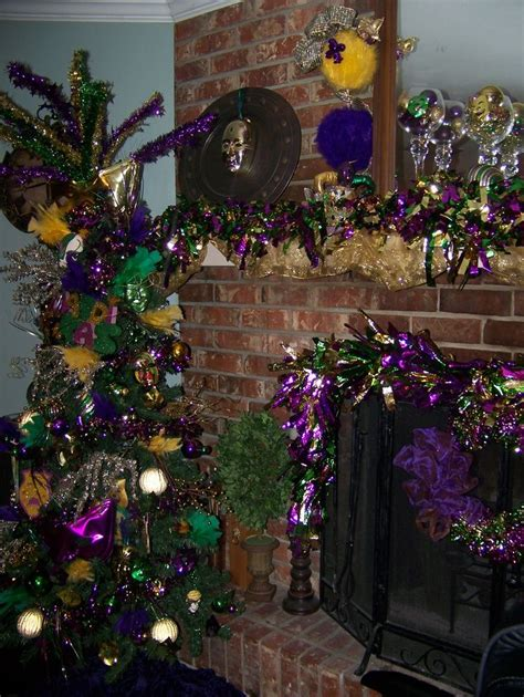 mardi gras home decor found on sassyparties blogspot com susan s board