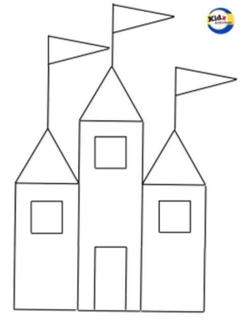 castle cut out template cut out castle template version free software