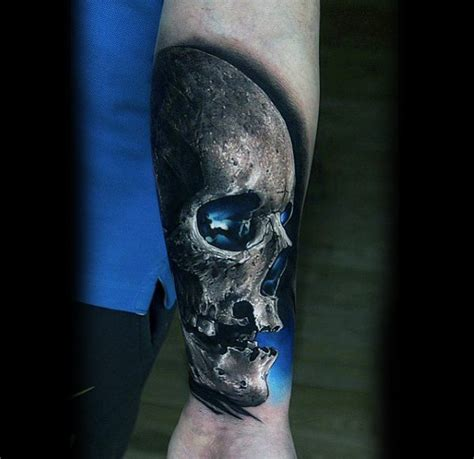 skull tattoos on wrist 100 awesome tattoos for guys manly ink design ideas