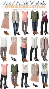 and summer fashion ideas at kohls pretty pastel