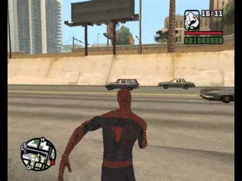 gta san andreas spiderman mod game free download for pc gta san andreas pc trailer spider man 3 mod youtube