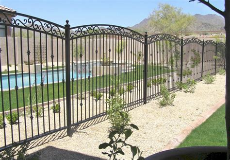 wrought iron fence pictures and ideas
