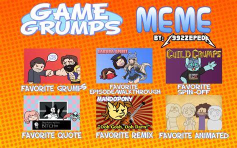 Game Grumps Meme - game grumps meme by 1992zepeda on deviantart