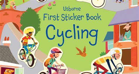 Usborne Sticker Book Cycling win a copy of sticker book cycling from usborne publishing design museum