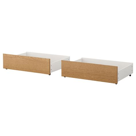ikea bed frame with box malm bed frame high oak veneer lur 246 y standard ikea