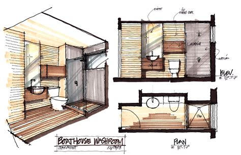 interior plans for home boathouse renovation and extension in muskoka lakes ontario