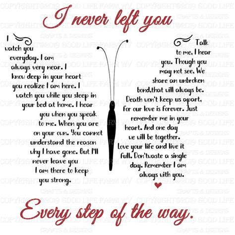 left  butterfly poem svg png jpeg eps cutting