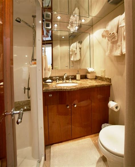 boat bathroom bathrooms luxury yacht
