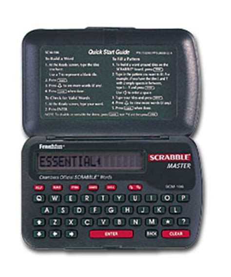 franklin scrabble master franklin scm 106 electronic dictionarie review compare