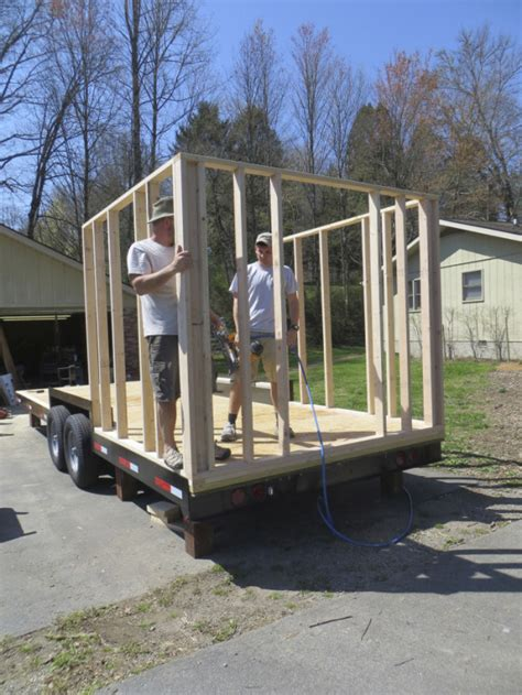 how to build a tiny house the robins nest by brevard tiny house co