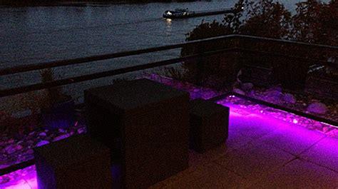 beleuchtung draußen terrasse design beleuchtung