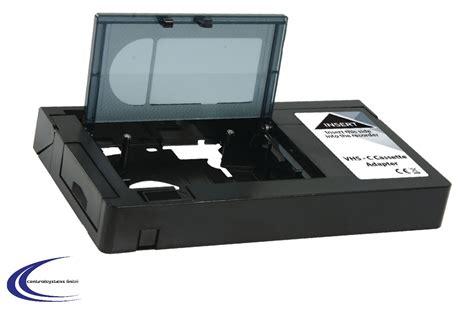 adattatore cassette vhs k 246 nig vhs c kassetten adapter f 252 r videorekorder vhs