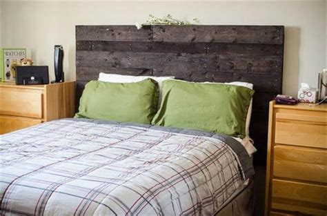 Headboards From Pallets by Make A Headboard From Pallets 99 Pallets
