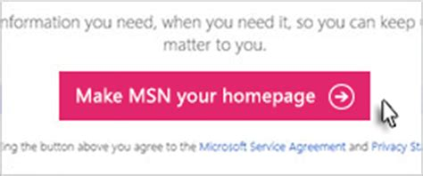 How To Make Msn Your Homepage 15 Steps Ehow Search Results | you re in the desktop re click the button make msn your