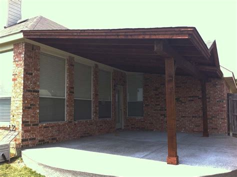 covered backyard patio backyard patio cover in denton texas hundt patio covers and decks