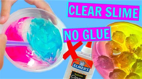 diy slime  glue    slime   glue glueless slime youtube