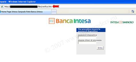 intesa sito phishing intesa quando la vittima d 224 scacco al phisher