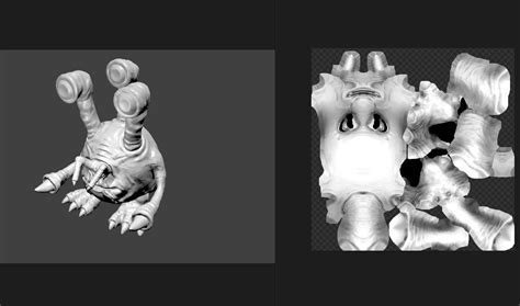 tutorial blender monster sketch of monster for 3d sculpting jayanam gamedev