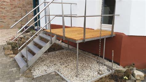 Treppen Podest by Br 252 Cken Und Stege