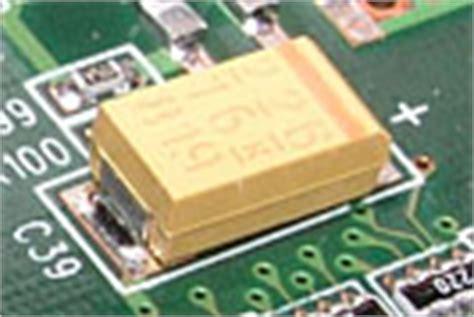 tantalum capacitor backwards capacitor lab types of capacitors tantalum smt capacitors