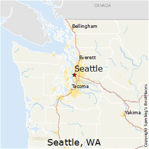 seattle map washington state best places to live in seattle washington