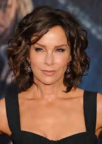 bob wavy hairstyles for 50 jennifer grey short brown curly bob hairstyle for women
