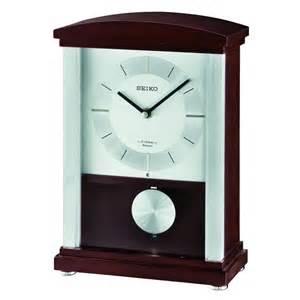 Mantel Clock Contemporary Rothesay Contemporary Mantel Clock Seiko Clocks