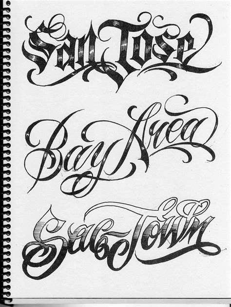 tattoo lettering designs script 17 best images about lettering on chicano